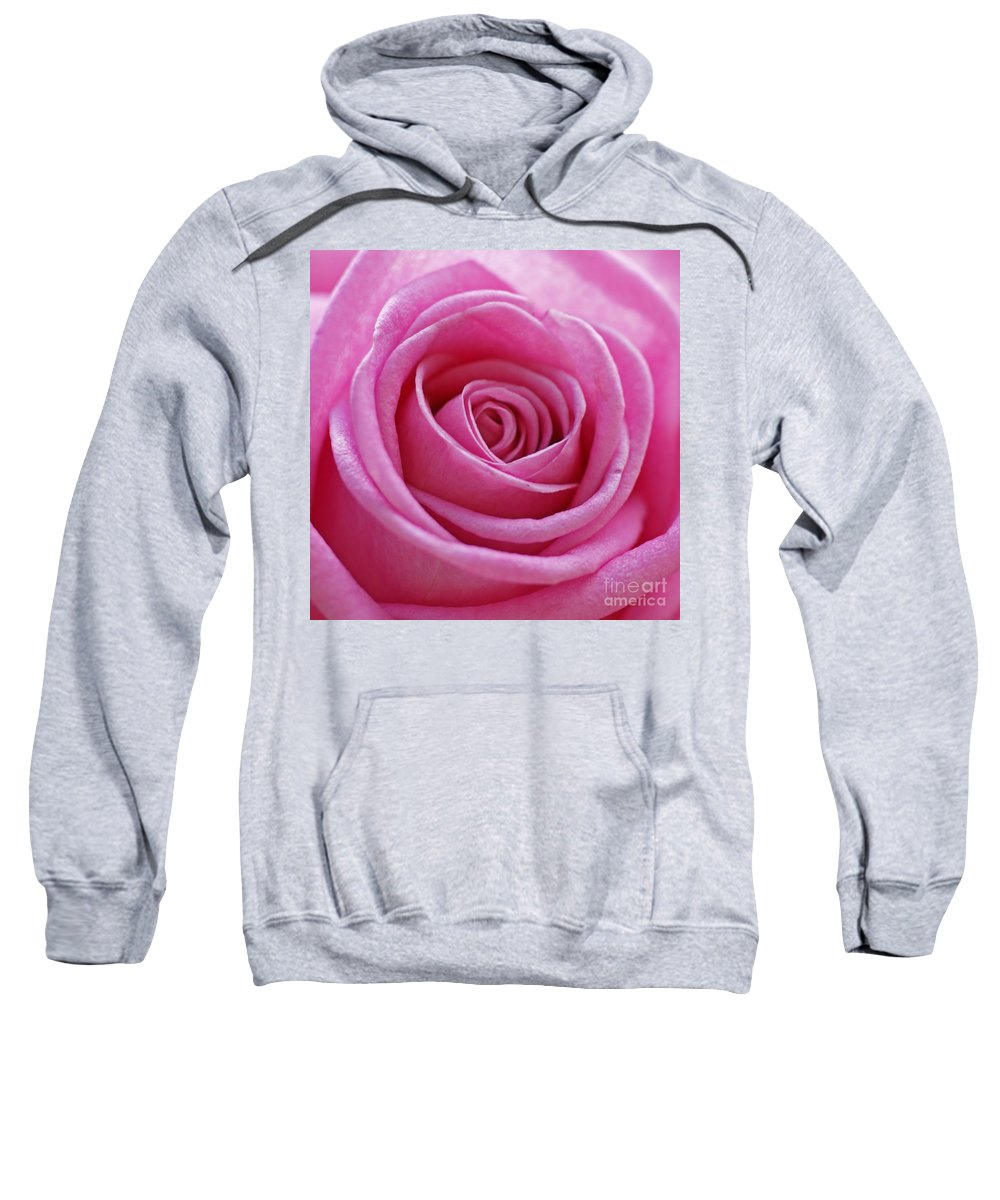 Pink Sweatshirt featuring the photograph Happy Pink by Carol Lynch