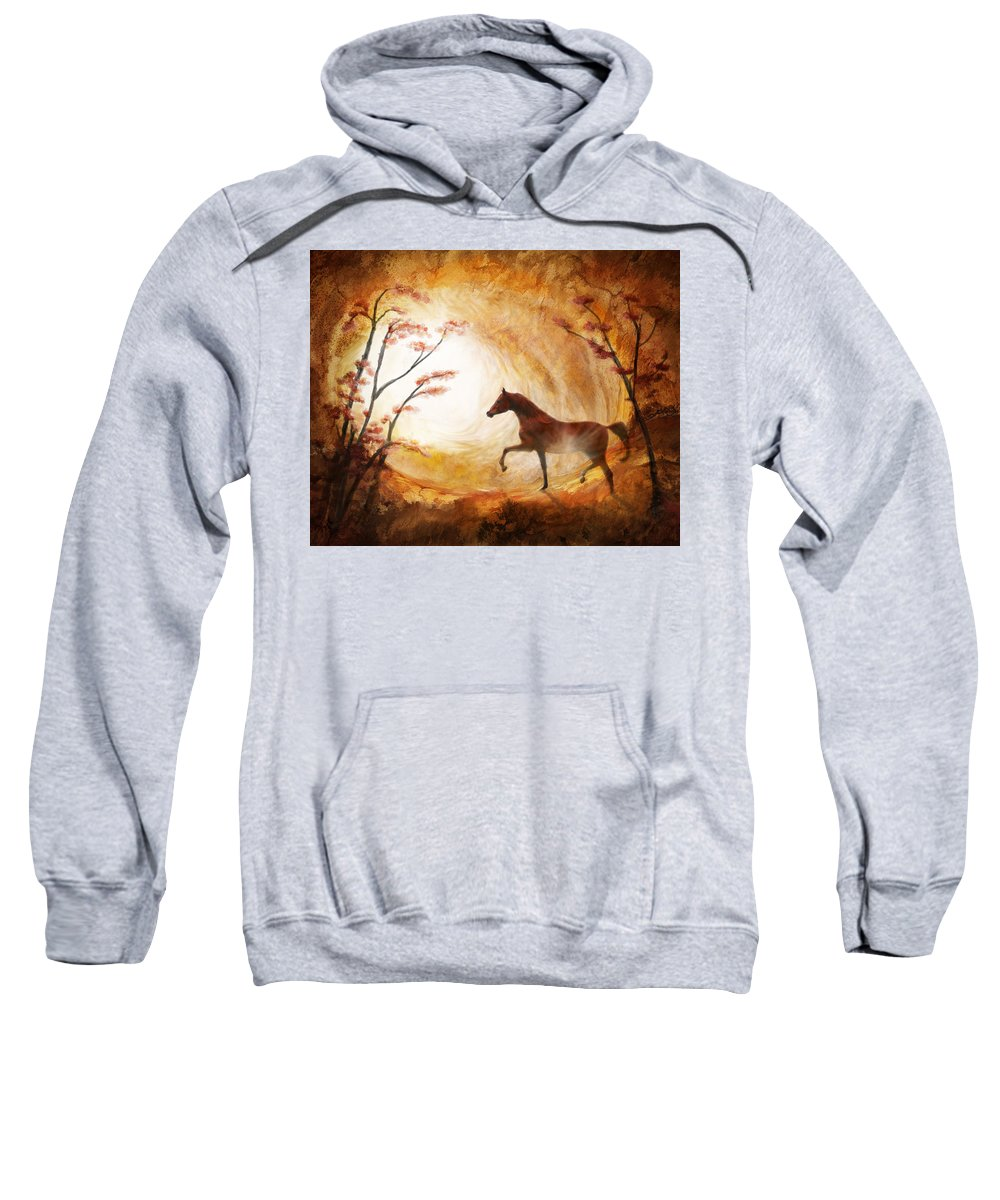 Cave Painting Sweatshirt featuring the photograph Heavenly by Melinda Hughes-Berland