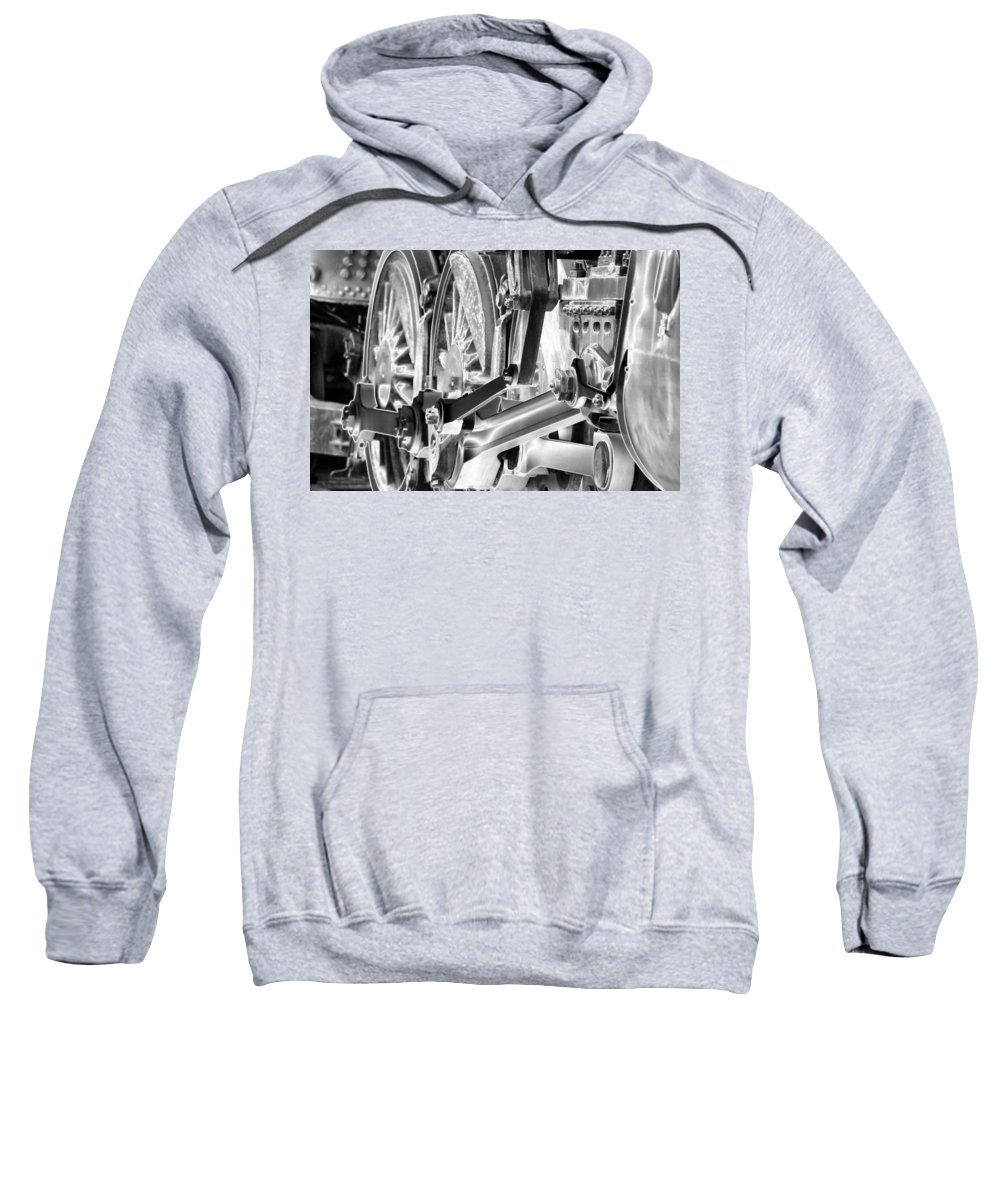 Train Sweatshirt featuring the photograph Heavy Metal 1519 - Photopower 1472 by Pamela Critchlow