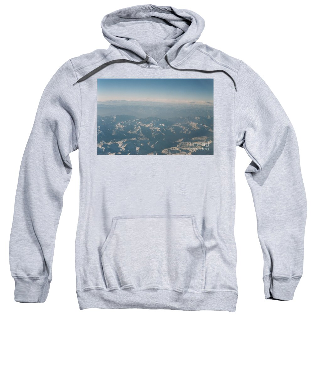 First Star Sweatshirt featuring the photograph Himalayas 2 by First Star Art