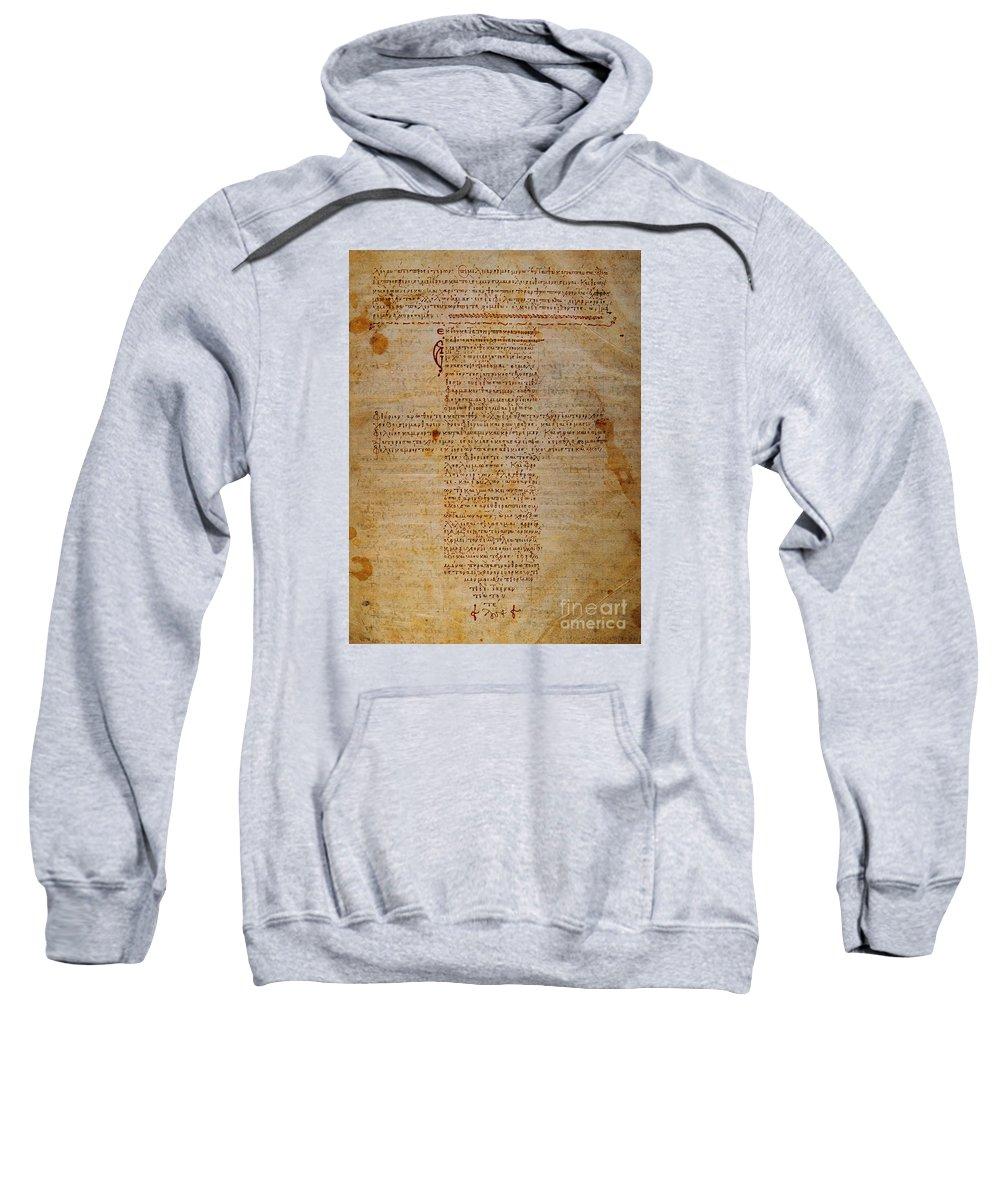 Hippocratic Oath Sweatshirt featuring the photograph Hippocratic Oath by Granger