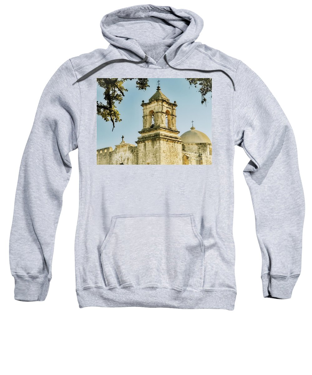 Missions Sweatshirt featuring the photograph Historical Mission by Gary Richards
