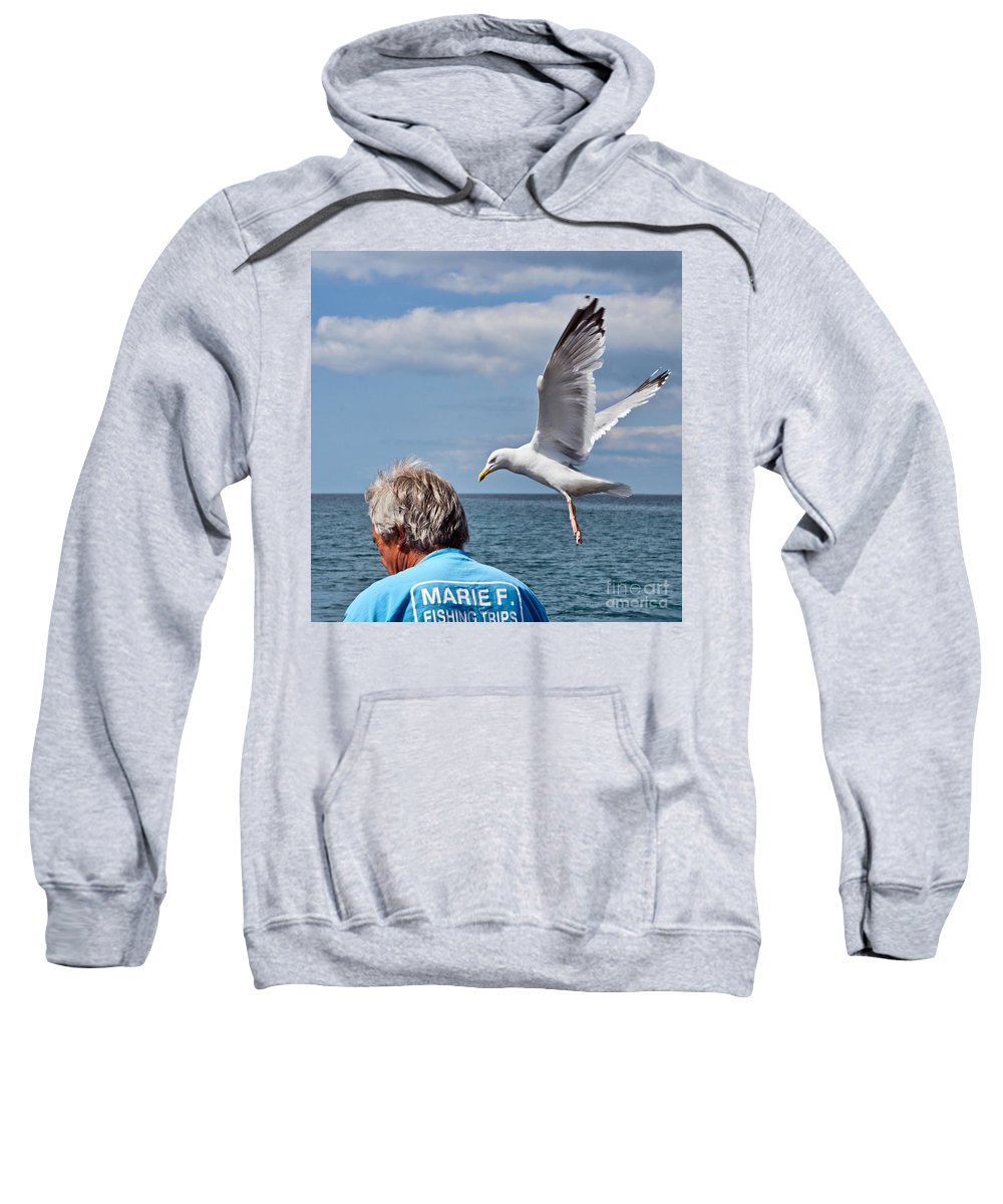 Mackerel Fishing Sweatshirt featuring the photograph Holy Mackerel by Susie Peek