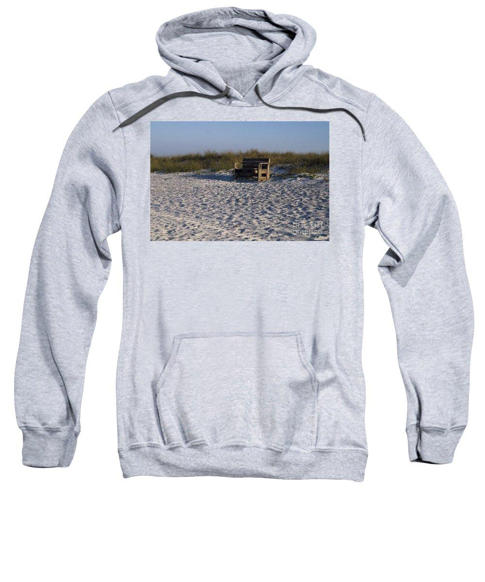 Honeymoon Island Beach Sweatshirt featuring the photograph Honeymoon Island Beach by John Greco
