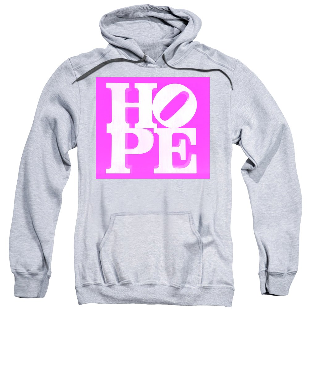 Hope Sweatshirt featuring the photograph Hope Inverted Pink by Rob Hans