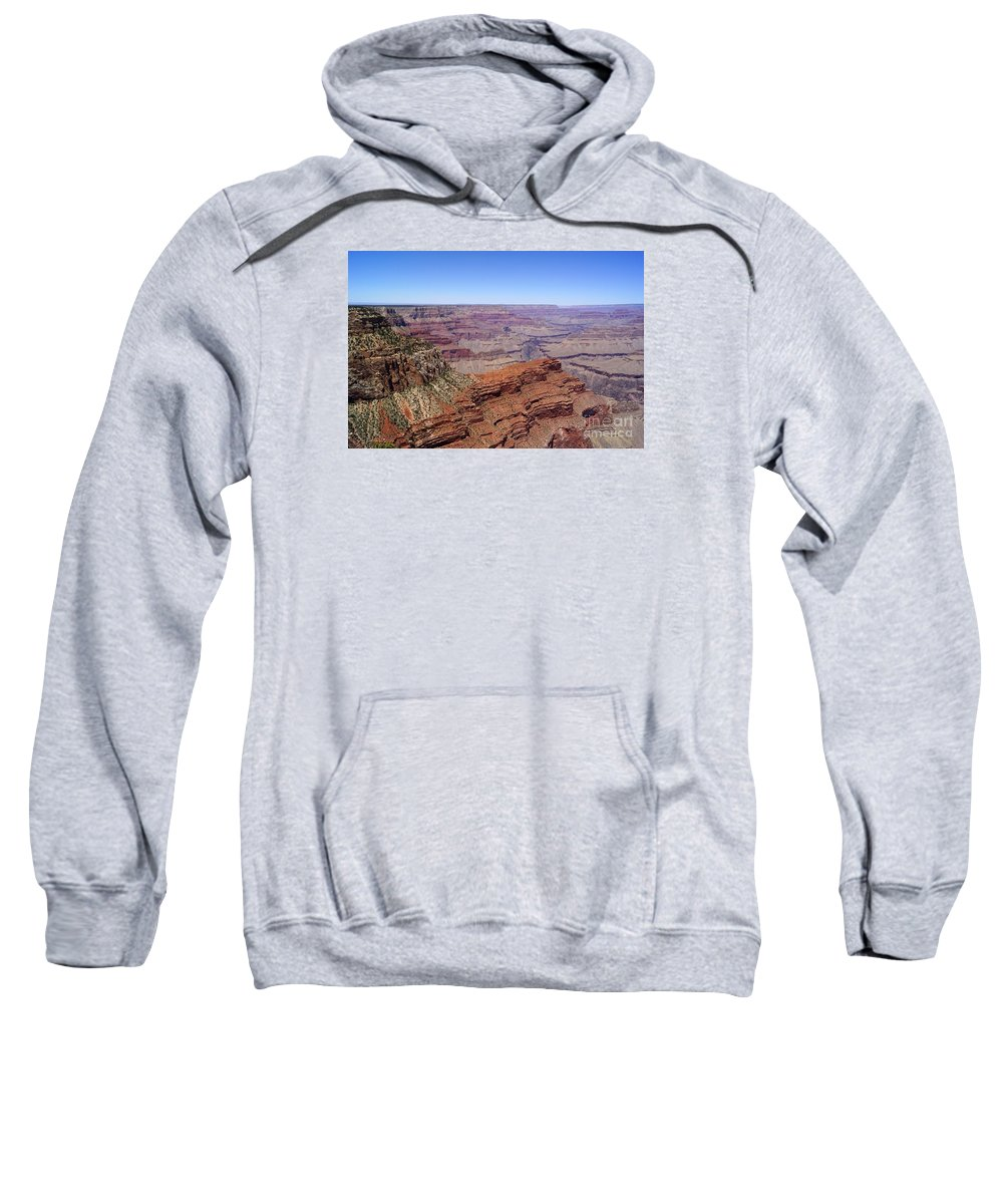 Grand Canyon South Rim Sweatshirt featuring the photograph Hopi Point 1 by Trish H