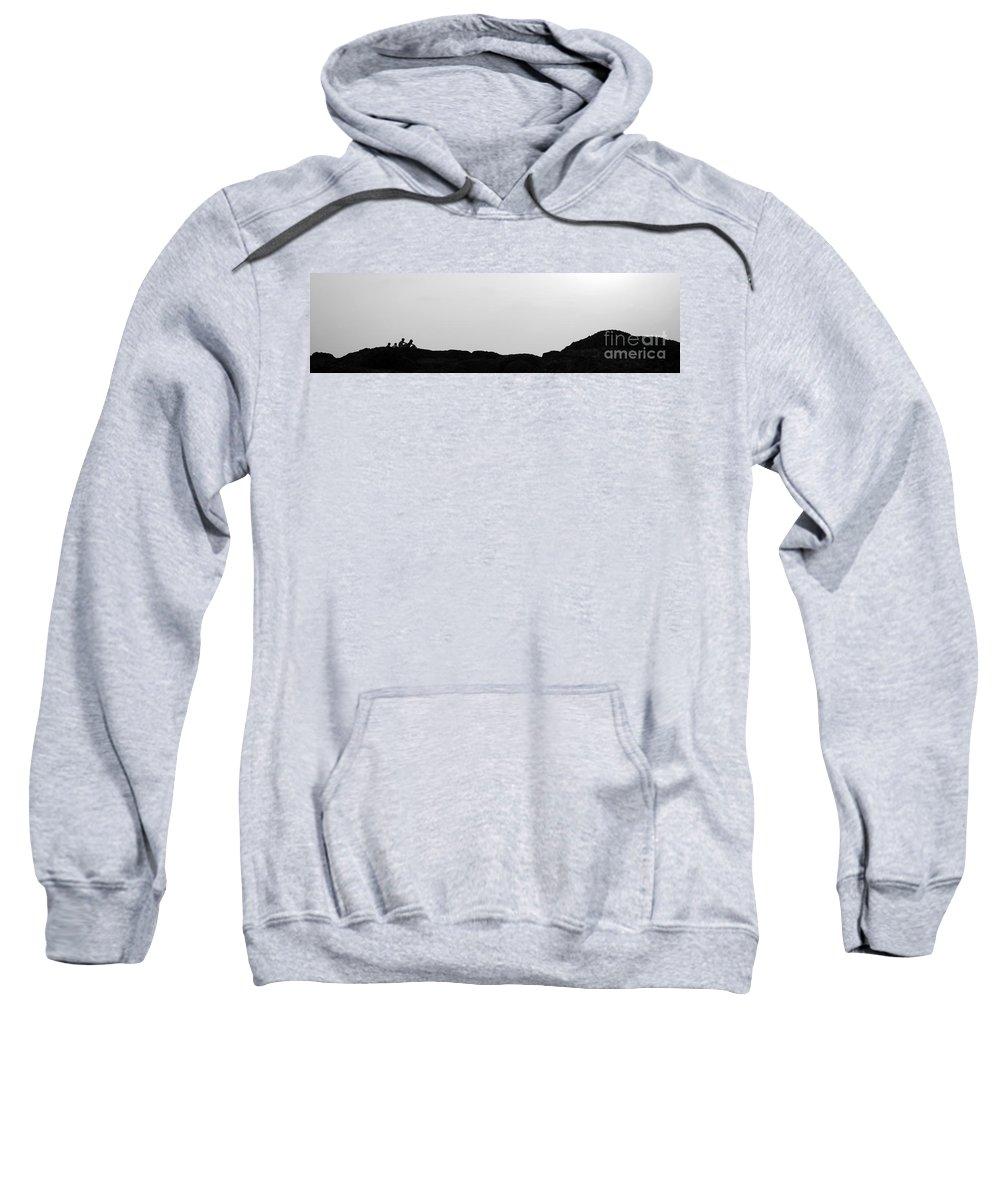Horizon Sweatshirt featuring the photograph Horizon by Dattaram Gawade