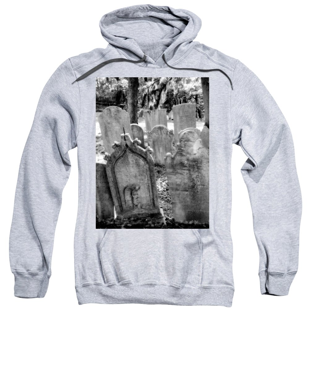 Graveyard Sweatshirt featuring the photograph Howard Ave by Michele Nelson