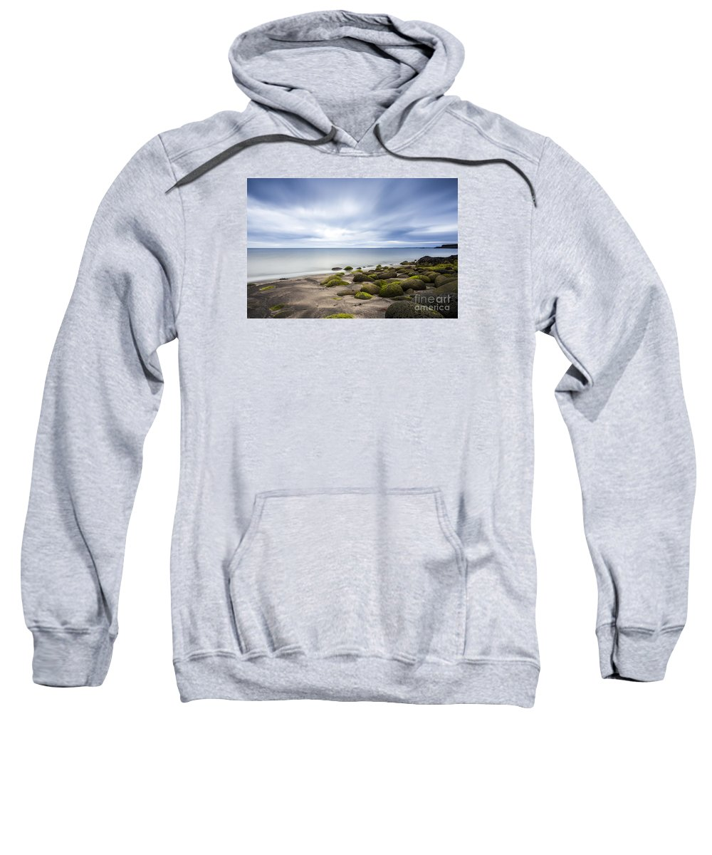 Peace Sweatshirt featuring the photograph Iceland Tranquility 1 by Gunnar Orn Arnason