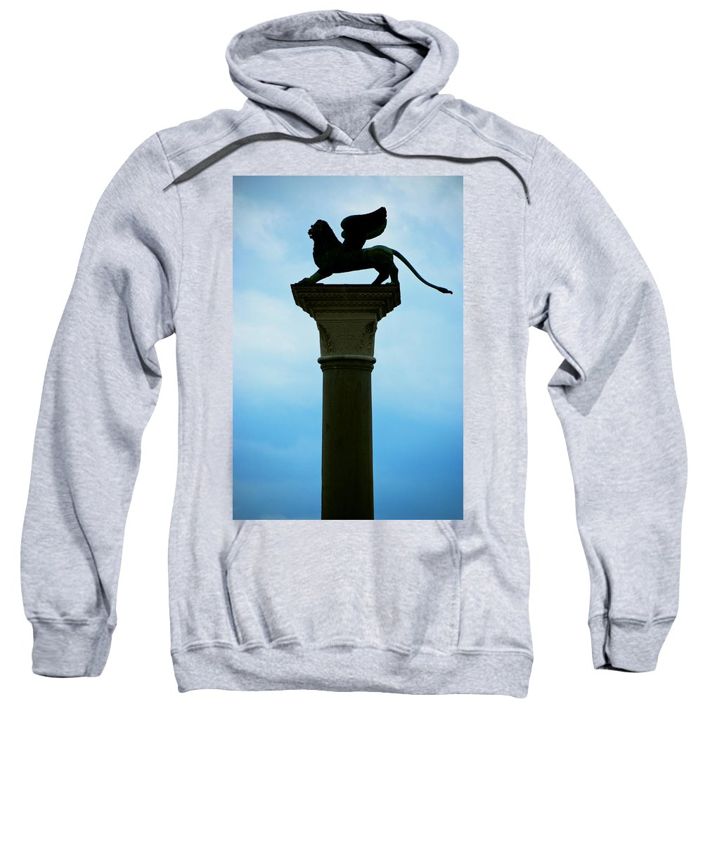 Iconic Sweatshirt featuring the photograph Iconic Griffin by Eric Tressler