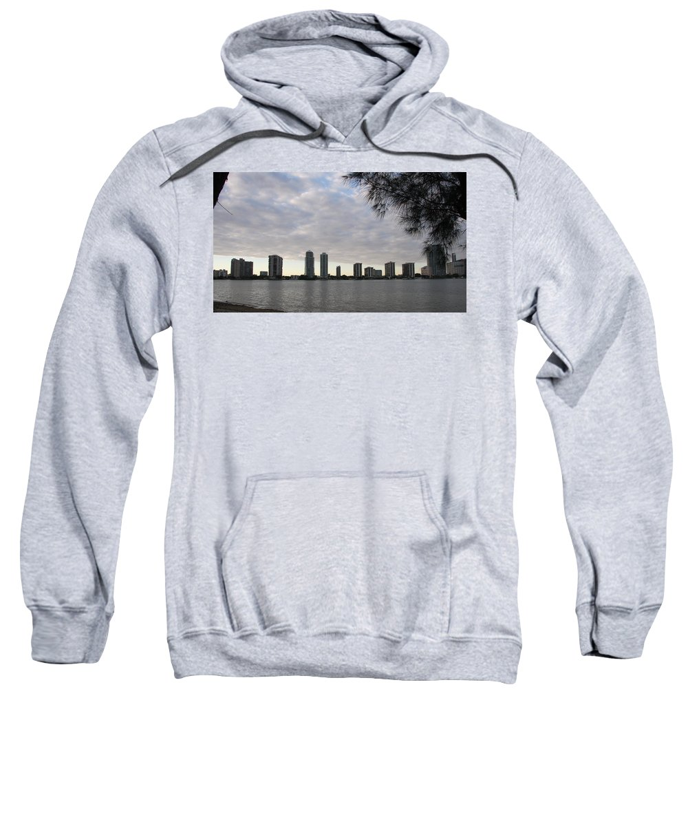 Skyline Sweatshirt featuring the photograph In The Eveninglight by Christiane Schulze Art And Photography