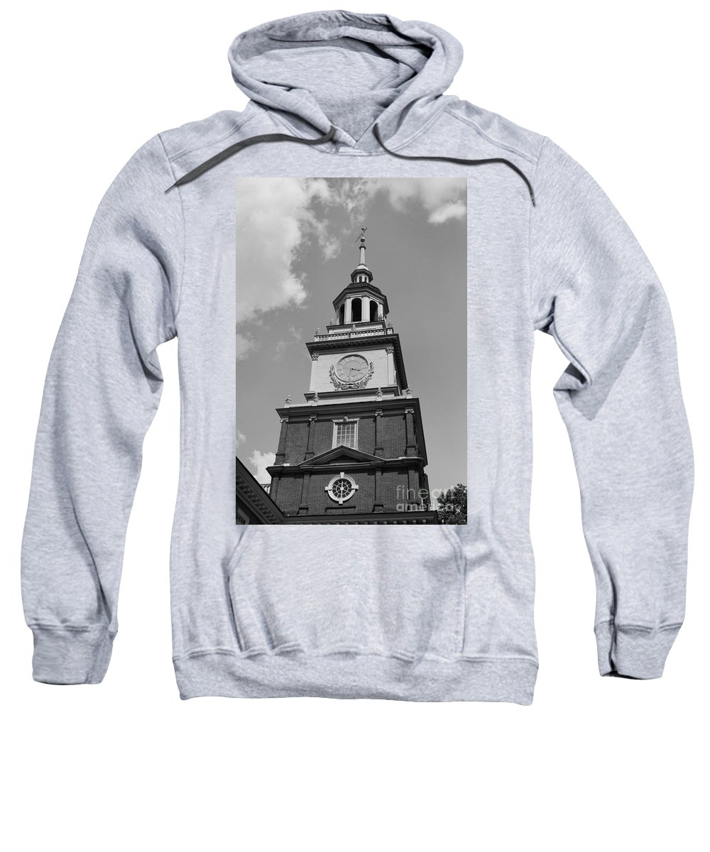 Independence Hall Sweatshirt featuring the photograph Independence Hall by Tommy Anderson