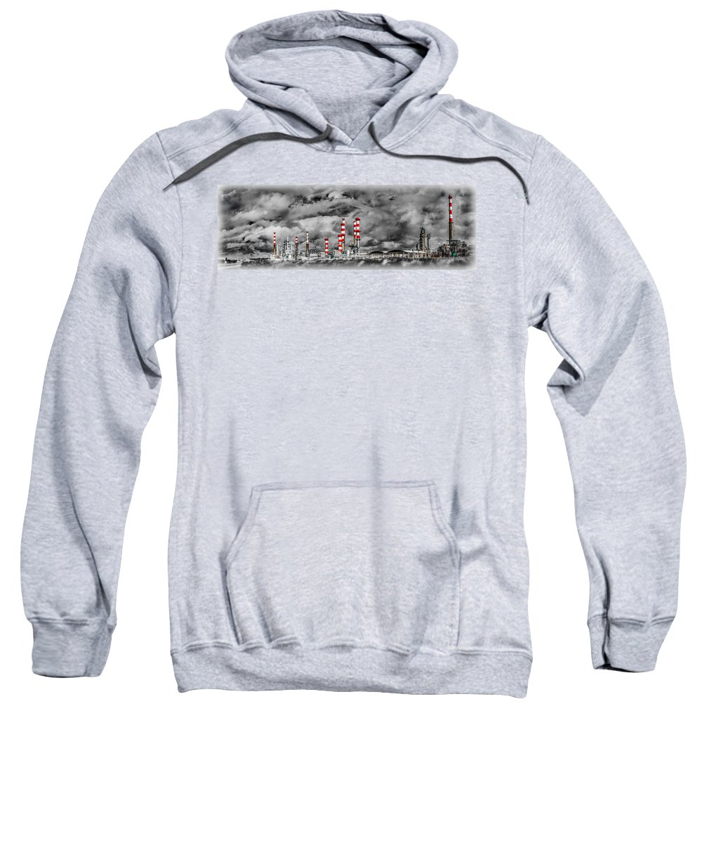 Industry Sweatshirt featuring the photograph Industry by Ernesto Santos