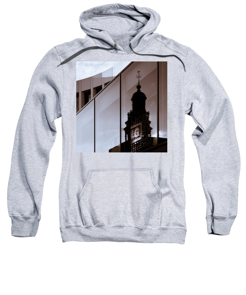 Maastricht Sweatshirt featuring the photograph Inner City by Dave Bowman