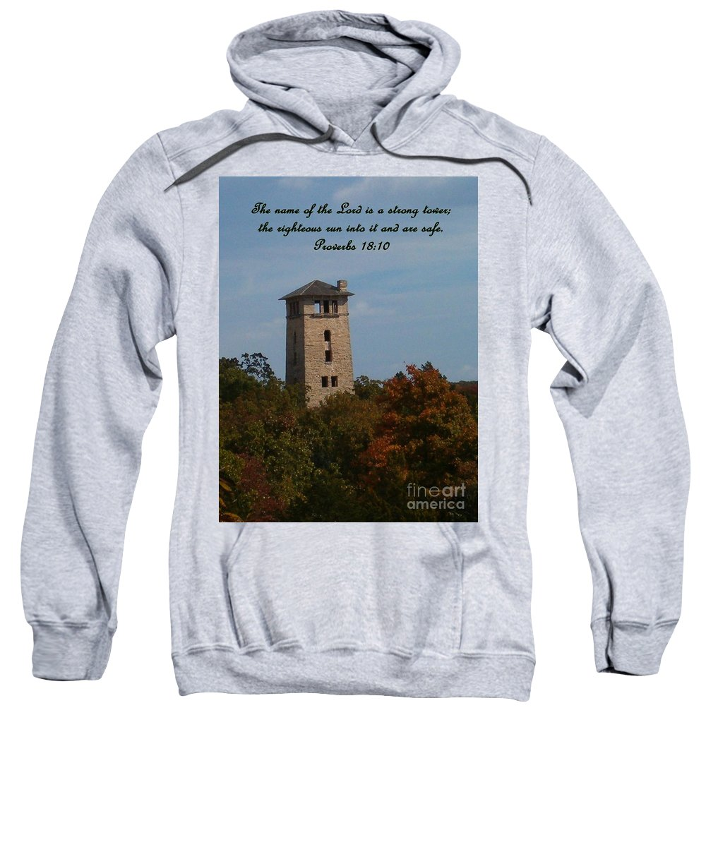 Water Tower Sweatshirt featuring the photograph Inspirations 5 by Sara Raber