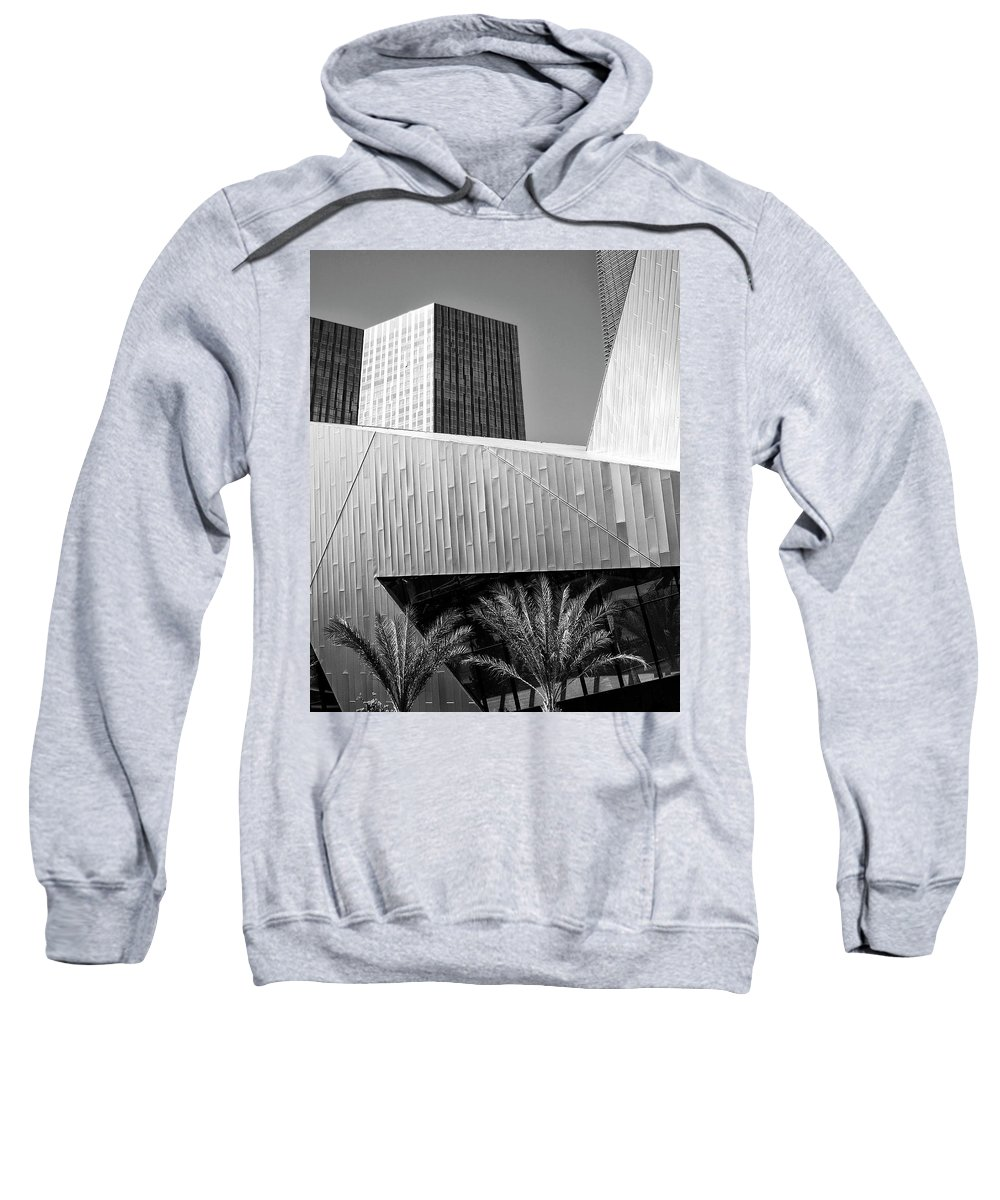 Vegas Sweatshirt featuring the photograph Intersection Number 2 Las Vegas by William Dey