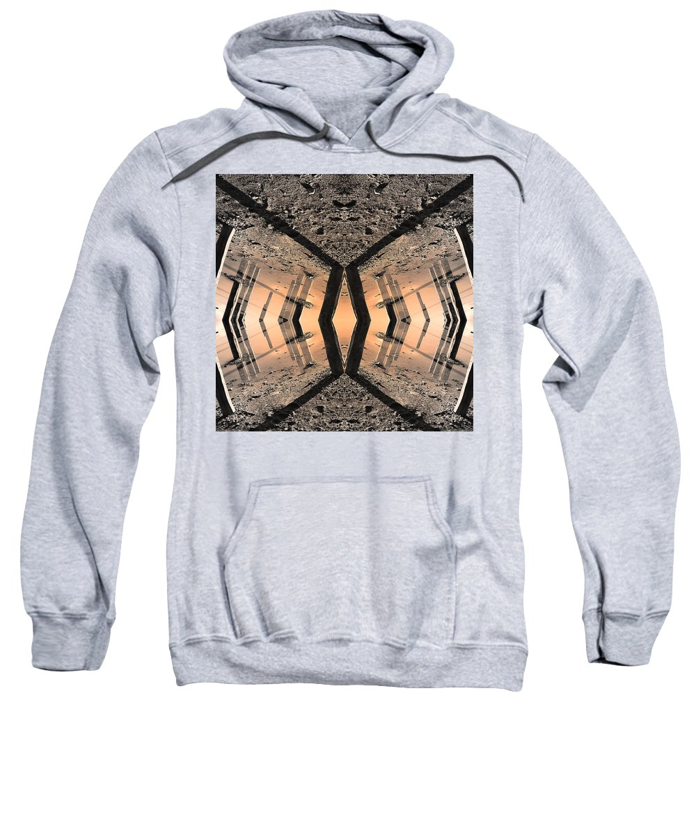 Into The Core Sweatshirt featuring the photograph Into The Core by Dominic Piperata