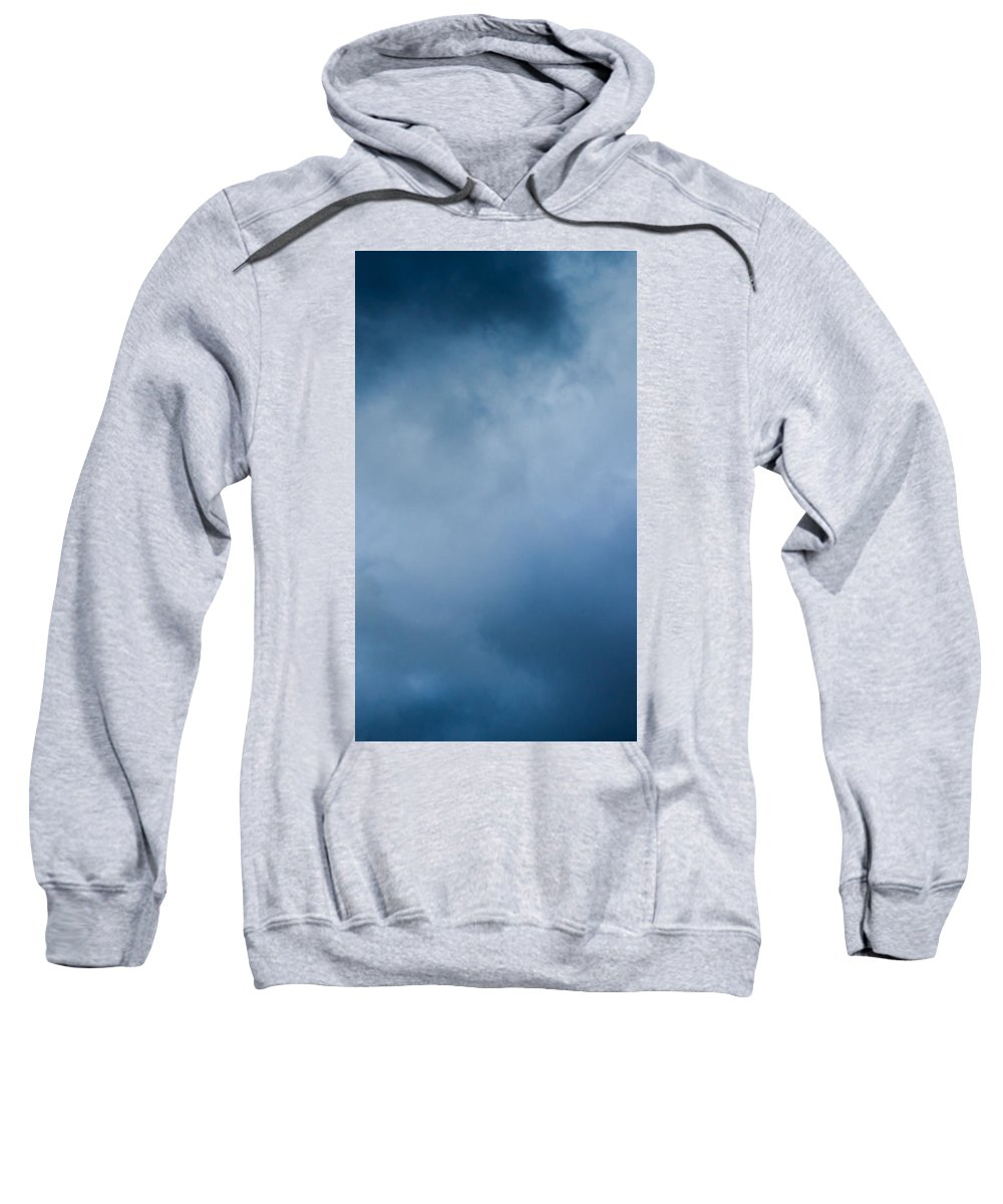 Abstract Sweatshirt featuring the photograph iPhone Case - Stormy Clouds by Alexander Senin