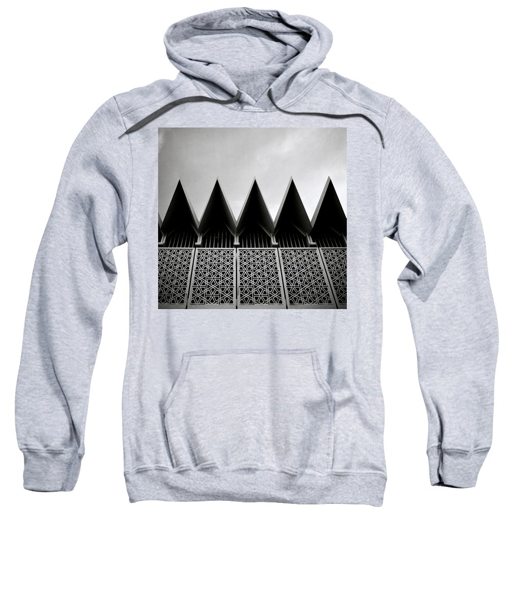 Mosque Sweatshirt featuring the photograph Islamic Geometry by Shaun Higson