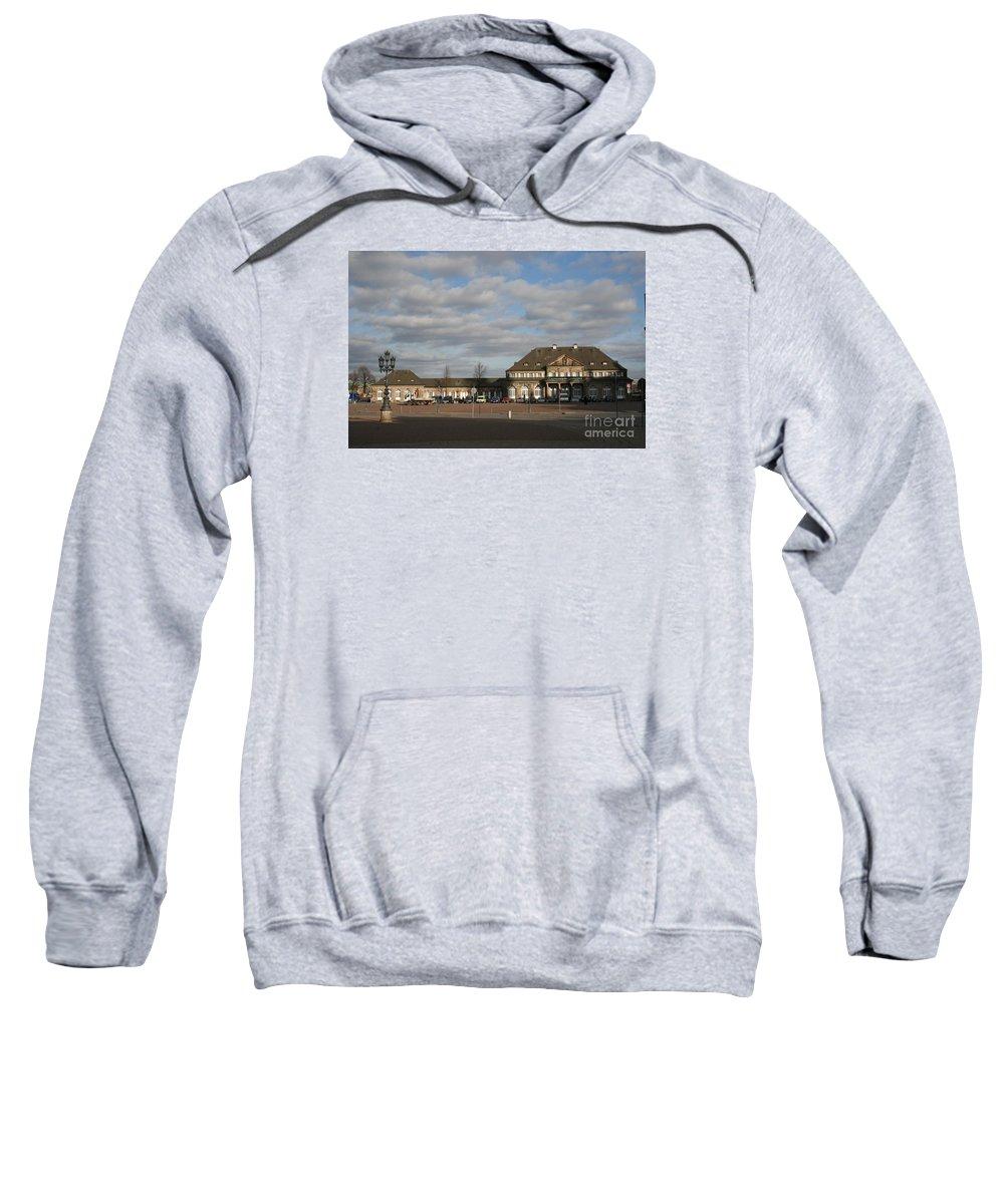 Italian Village Sweatshirt featuring the photograph Italian Village Dresden by Christiane Schulze Art And Photography