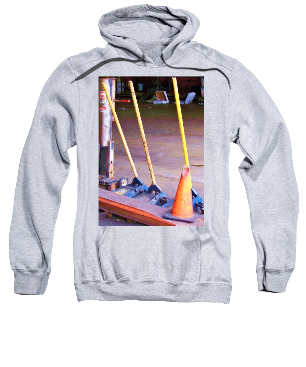 Jack Sweatshirt featuring the photograph Jacked by Chuck Hicks