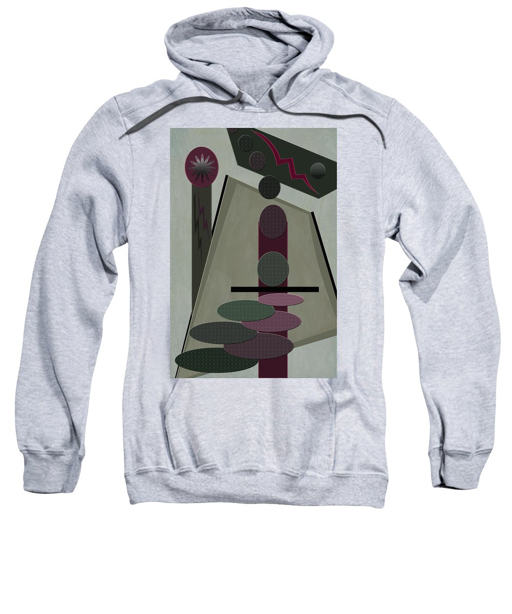 Abstract Sweatshirt featuring the photograph Jackpot by Linda Dunn