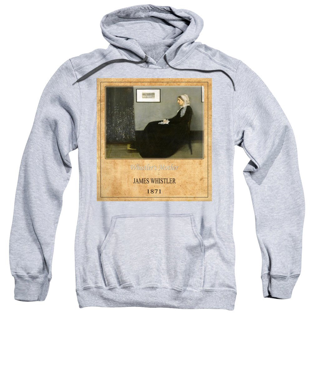 Whistler Sweatshirt featuring the photograph James Whistler 1 by Andrew Fare