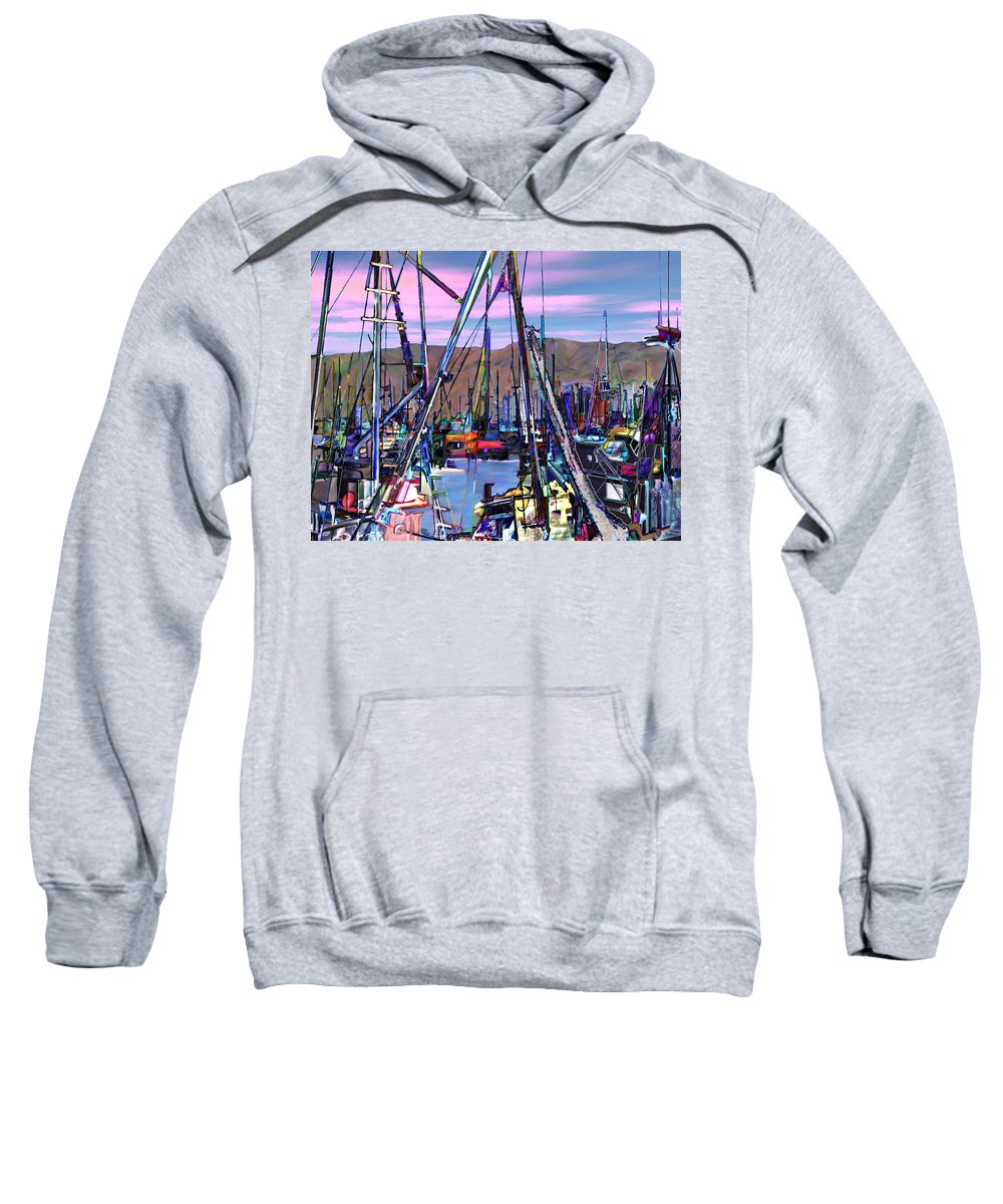 Harbors Sweatshirt featuring the photograph Jammin At Twilight by Kurt Van Wagner