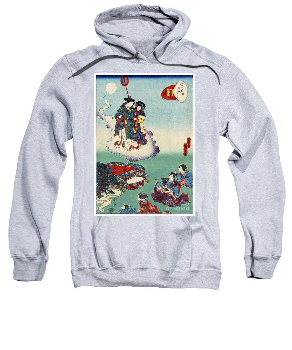 12th Century Sweatshirt featuring the photograph Japan: Tale Of Genji by Granger