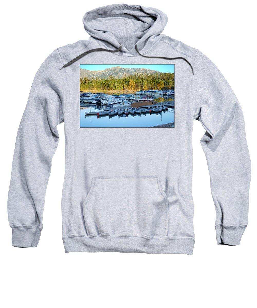 Jenny Lake Sweatshirt featuring the photograph Jenny Lake by Kathy Sampson