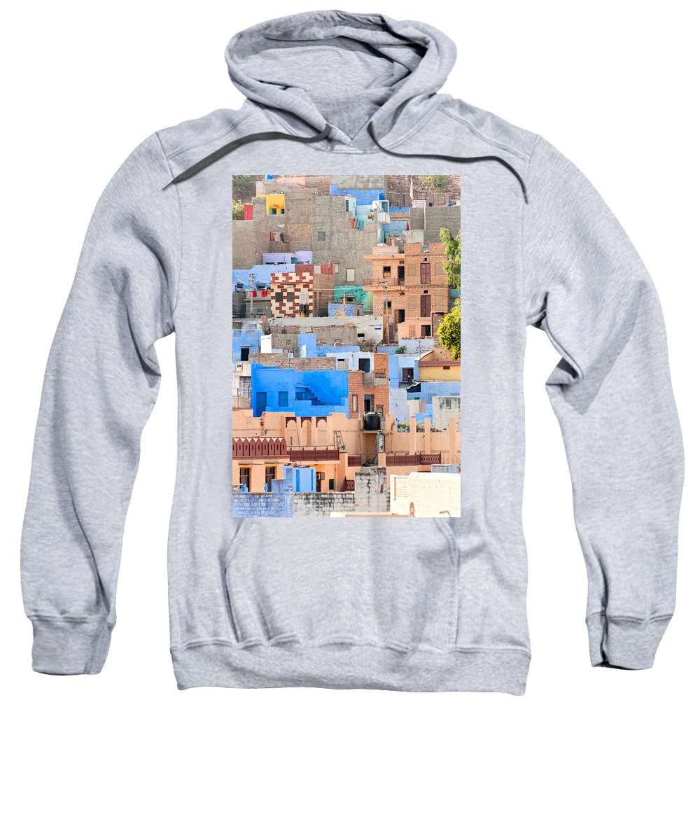 Ancient Sweatshirt featuring the photograph Jodhpur - Rajasthan - India by Luciano Mortula