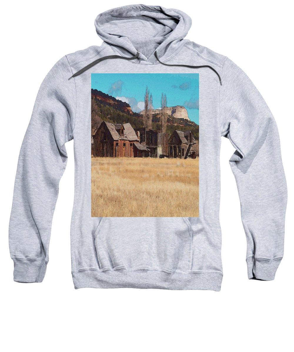 Digital Sweatshirt featuring the digital art Johnsonville by David Hansen