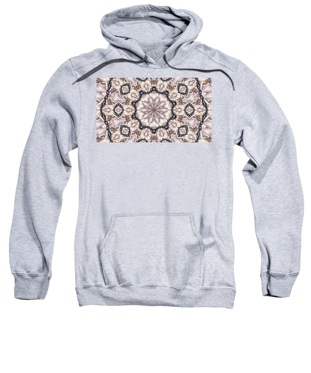 Kaleidoscope Sweatshirt featuring the photograph Kaleidoscope 21 by Ron Bissett
