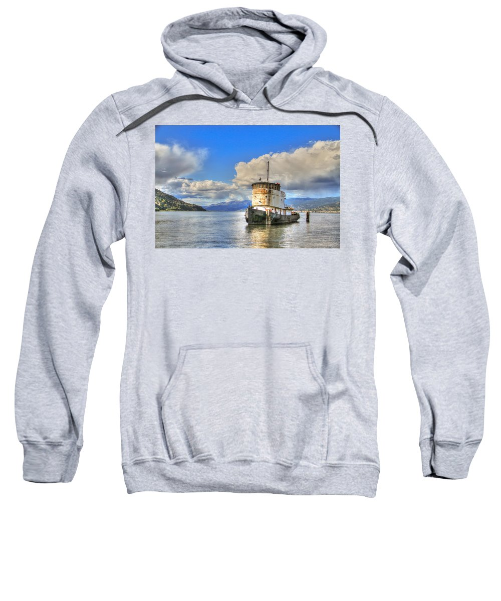 House Sweatshirt featuring the photograph Keep Off Old Ship by Eti Reid