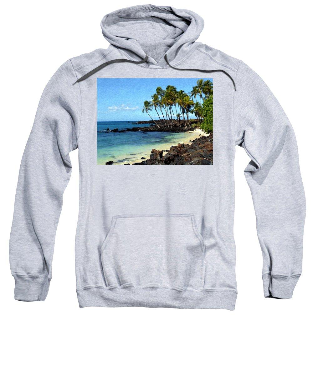 Hawaii Sweatshirt featuring the photograph Kekaha Kai II by Kurt Van Wagner