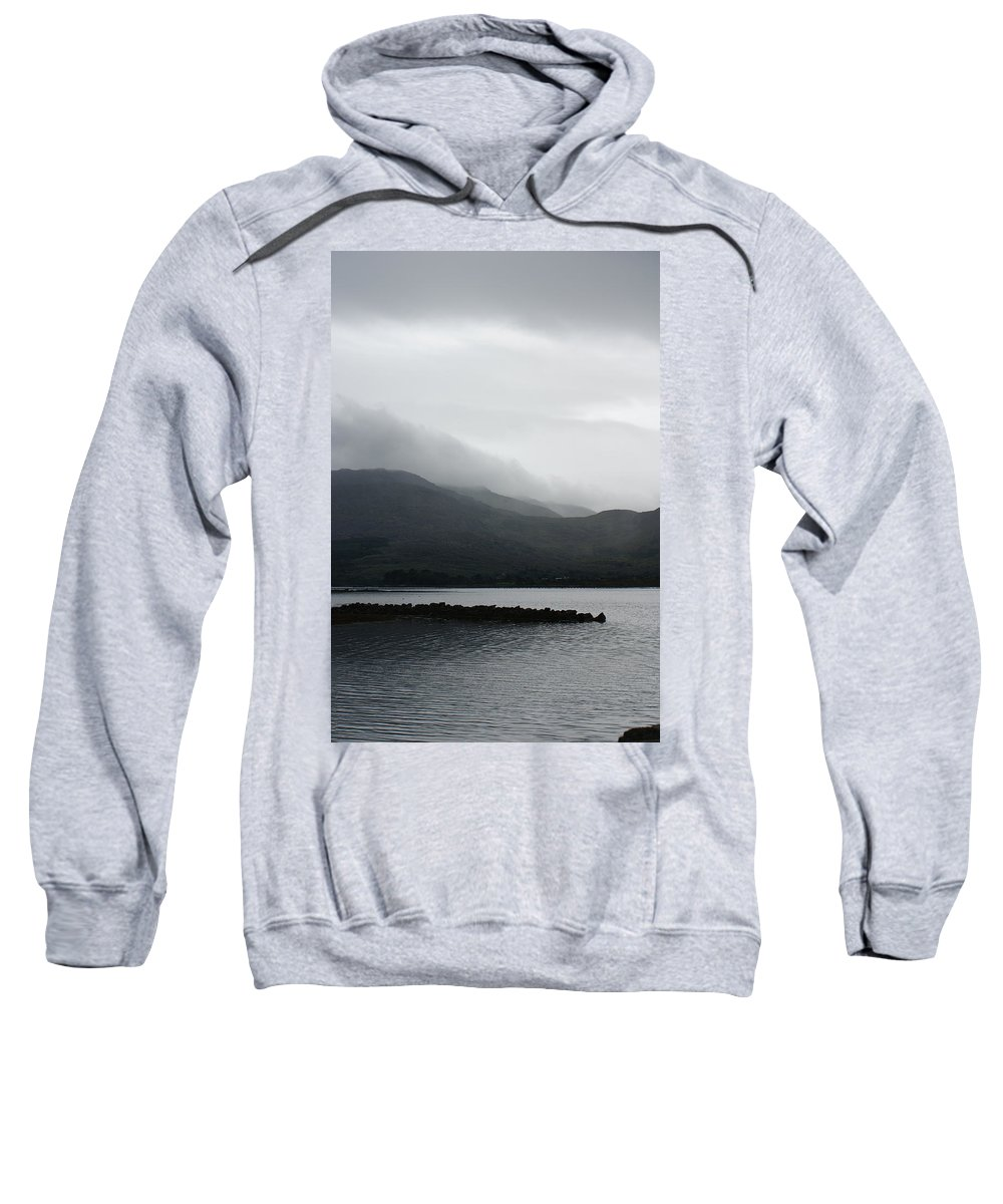 Kilmacalogue Sweatshirt featuring the photograph The Dragon Of Kilmacalogue by Simon Kennedy