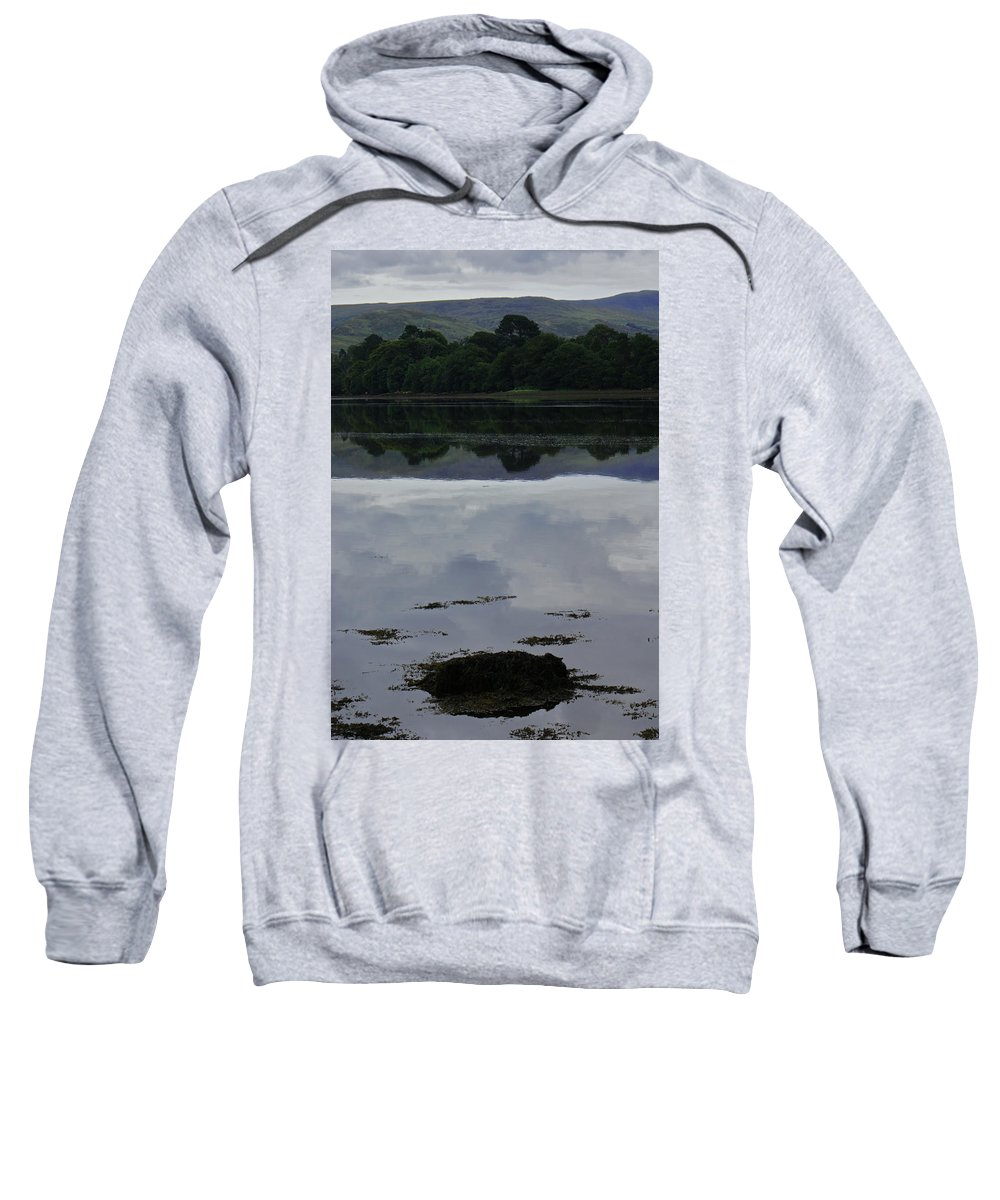 Reflection. Sweatshirt featuring the photograph Kenmare River Three by Simon Kennedy