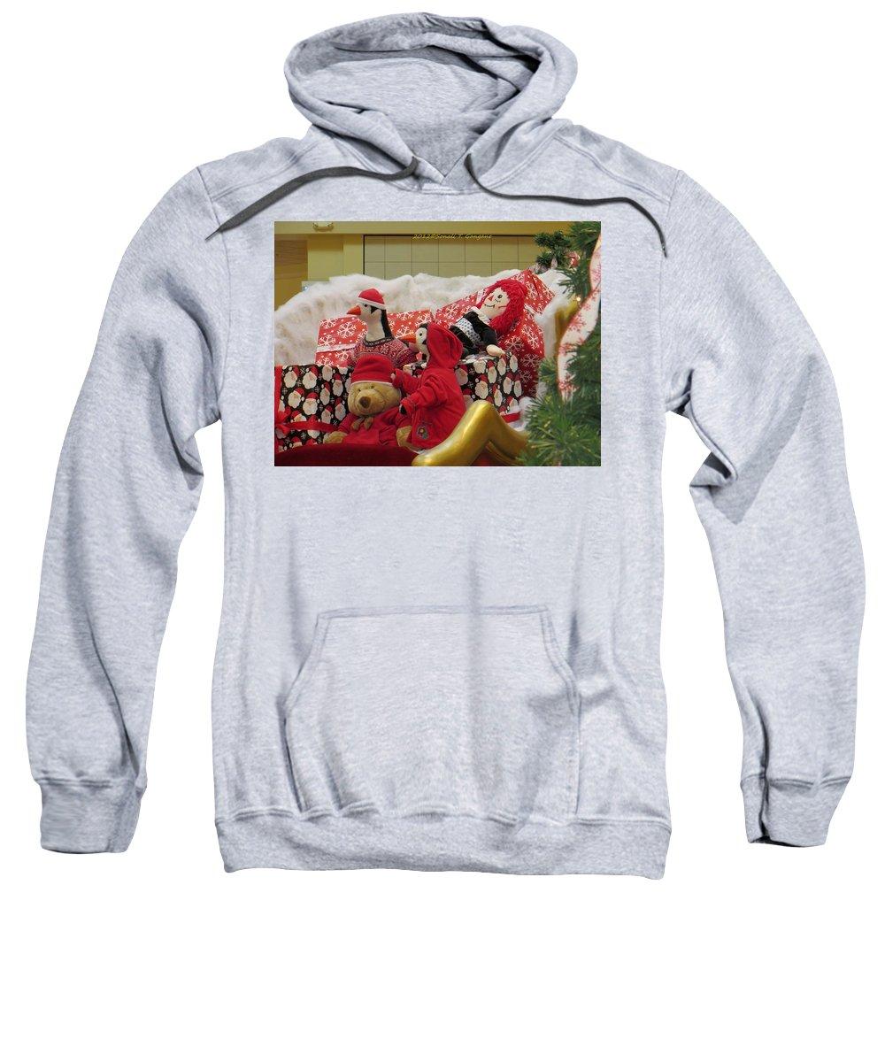 Winter Friends Sweatshirt featuring the photograph Kids Celebrations by Sonali Gangane