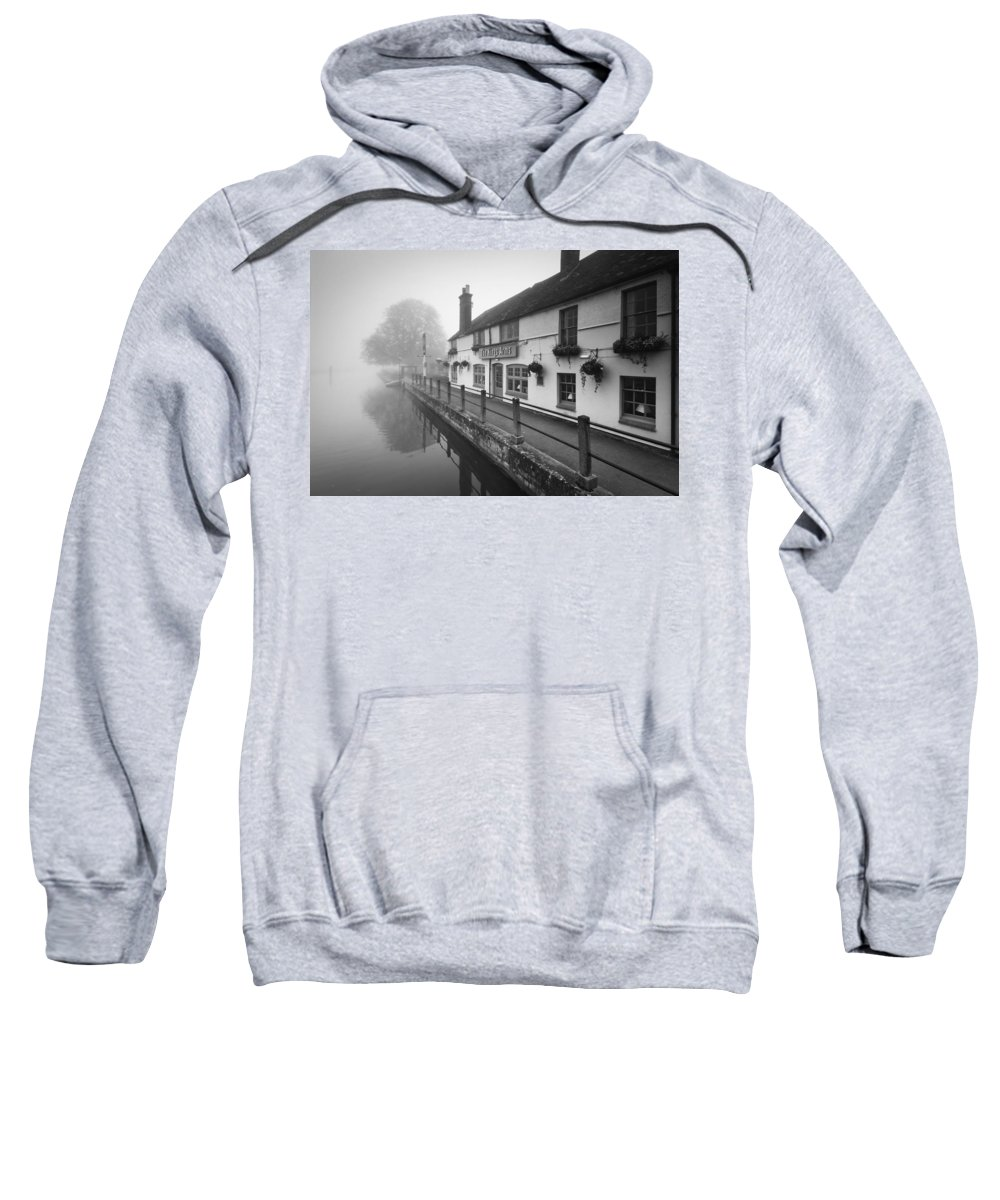 United Kingdom Sweatshirt featuring the photograph Kings Arms by Milan Gonda