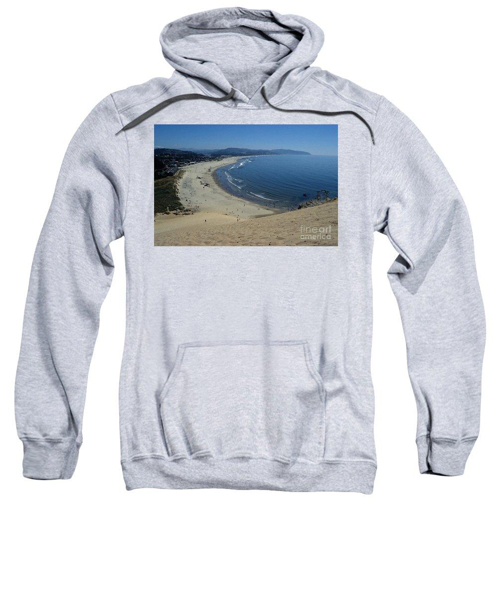 Beach Sweatshirt featuring the photograph Kiwanda Beach II by Sharon Elliott