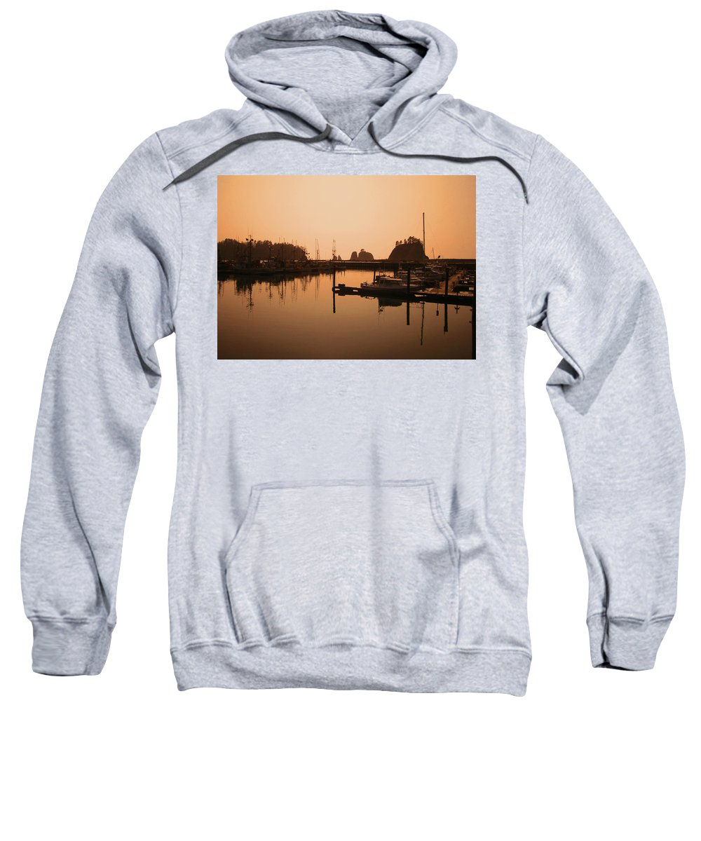Landscapes Sweatshirt featuring the photograph La Push In The Afternoon by Kym Backland