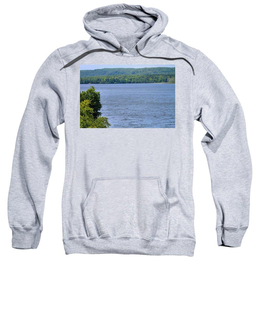 Lake Michigan Sweatshirt featuring the photograph Lake Michigan by Dan Sproul