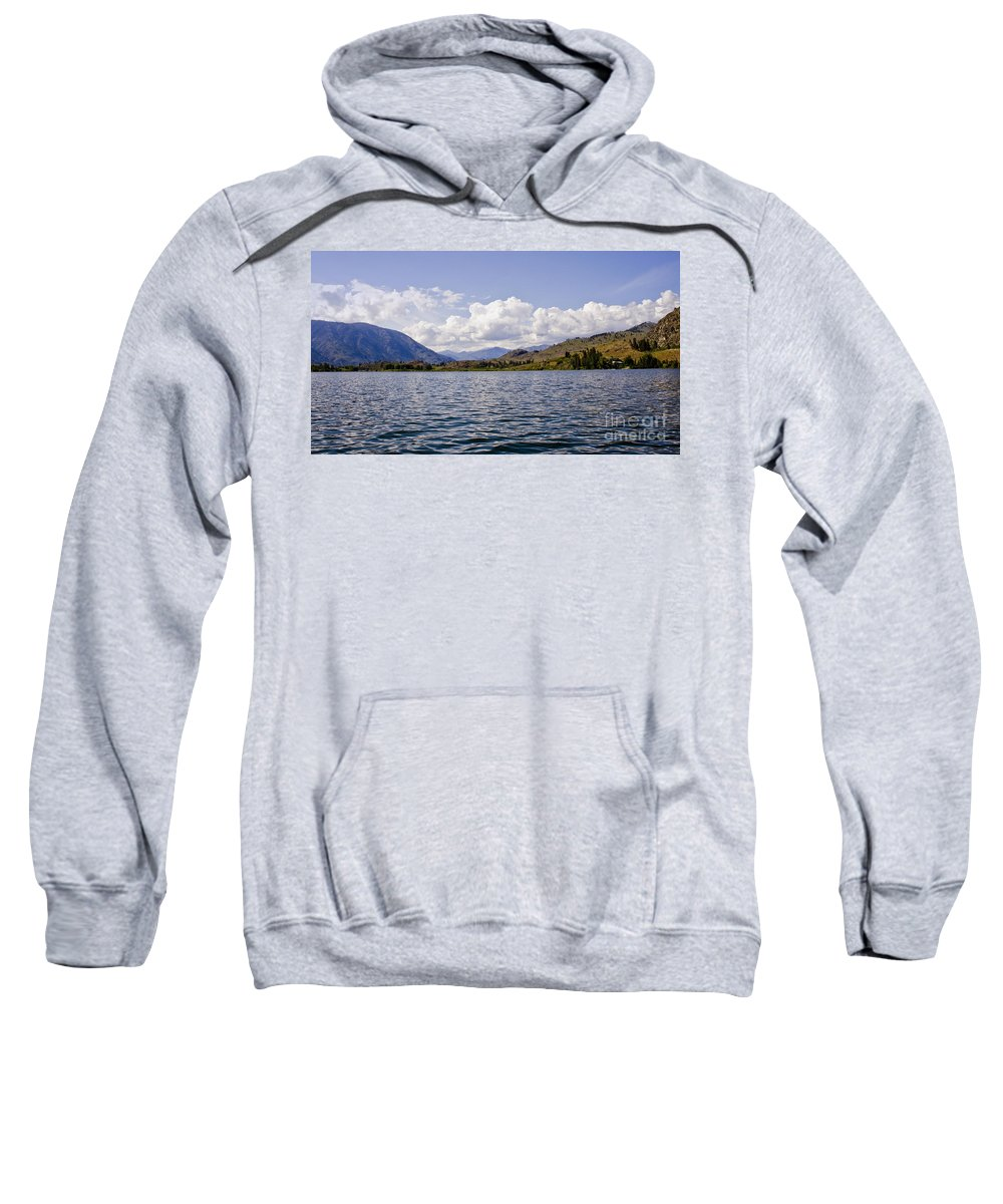 Lake Sweatshirt featuring the photograph Lake View by Andrea Goodrich