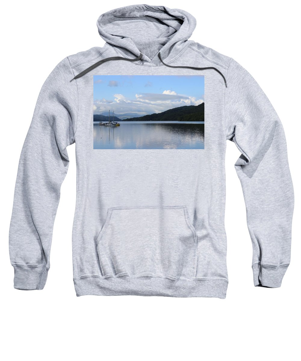 Lakes Sweatshirt featuring the photograph Lake Windermere by Martin Newman