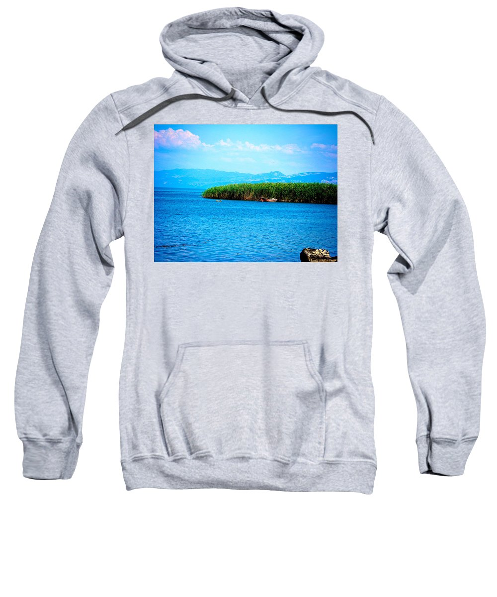 Lake Sweatshirt featuring the photograph Lakeview by Zafer Gurel