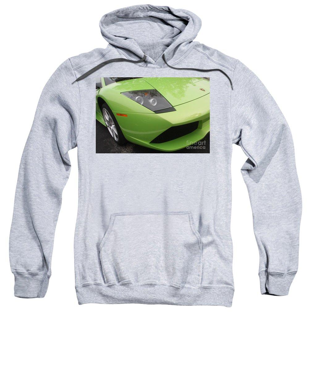 Lamborghini Sweatshirt featuring the photograph Lambopass8709 by Gary Gingrich Galleries