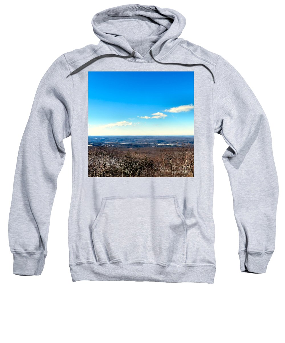 High Sweatshirt featuring the photograph Landscaping Eternity by Art Dingo