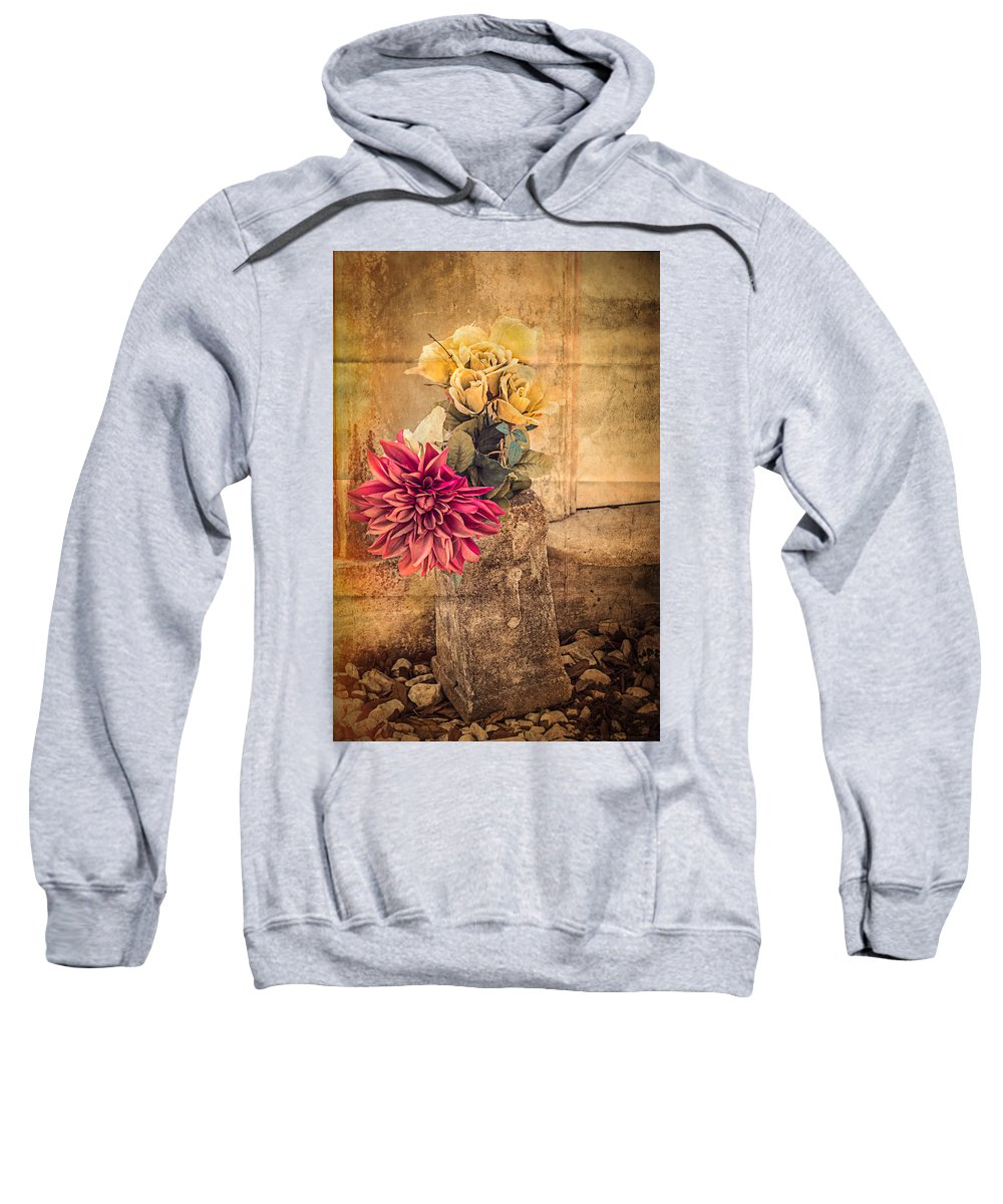 Nawlins Sweatshirt featuring the photograph Left For A Loved One by Melinda Ledsome