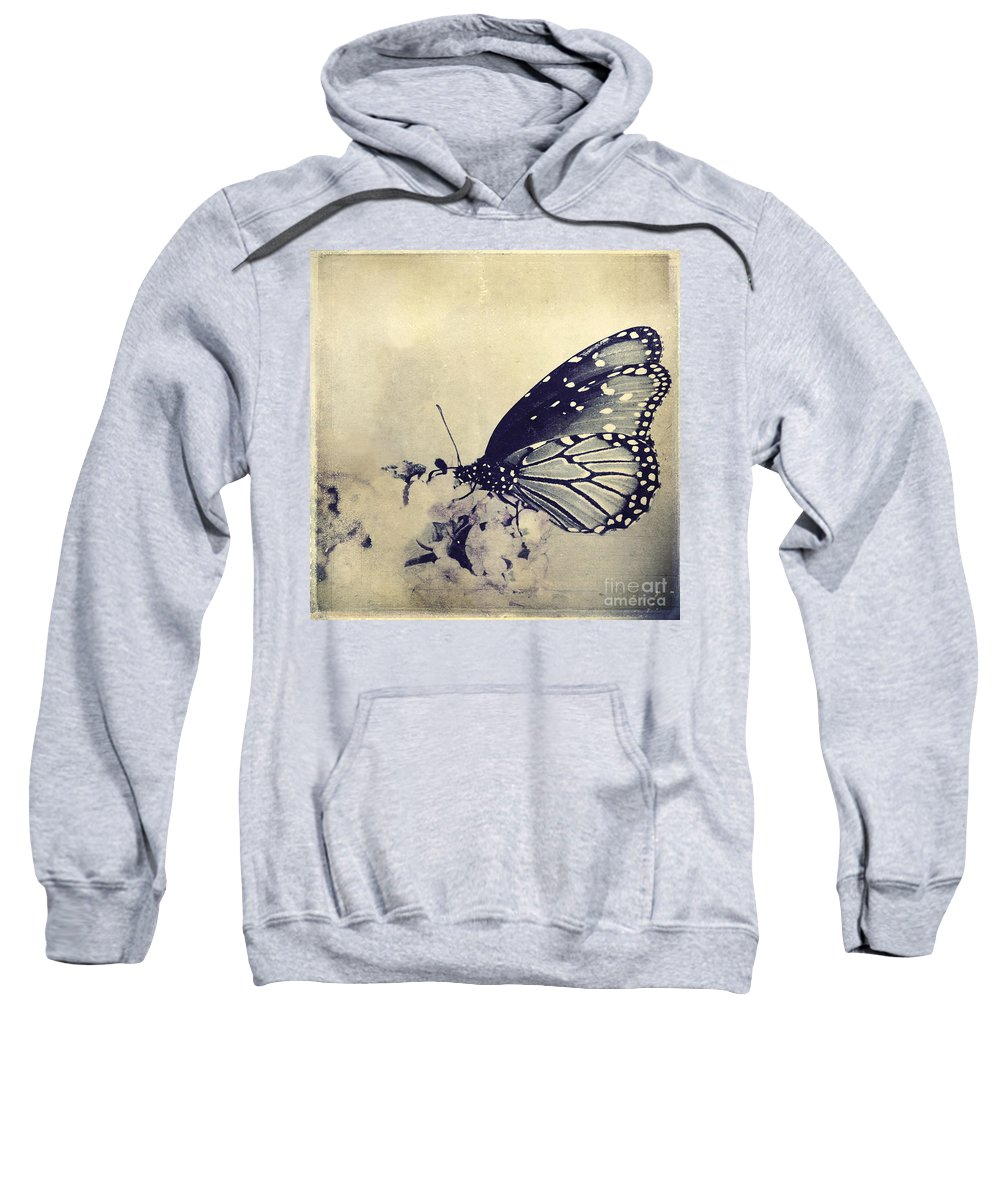 Butterfly Sweatshirt featuring the photograph Librada by Trish Mistric