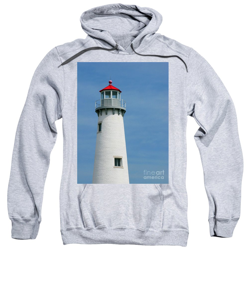 Lighthouse Sweatshirt featuring the photograph Lighthouse by Ann Horn